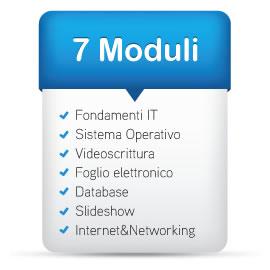 Corsi di informatica patente Europea 7 moduli