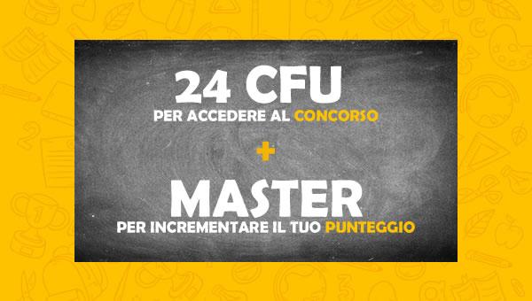 24 CFU con Master