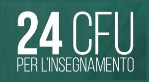 24 Crediti Formativi per l'insegnamento